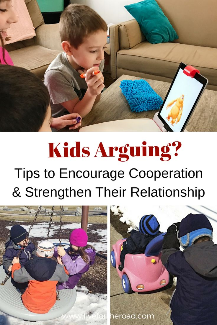 Tips to stop kids arguing. Encourage and strengthen sibling relationships. #parenting #parents #parenthood #family