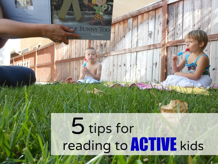 Reading to active kids: Reading To Kids, Activities Kids, Kids Stuff, Kids Learning To Reading, Reluctant Readers, Tips, Kids Books Activities, Kids Fun, Kids Reading