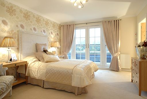 Cream Bedroom Decor: Magnolia Walls What Colour Curtains - Google Search