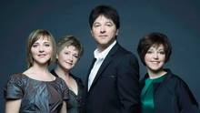 So Sad.  RIP #RayleneRankin  The Rankins, (from left to right) Heather, Cookie, Jimmy and Raylene are shown in a handout photo. Raylene Rankin of the internationally acclaimed Nova Scotia musical group The Rankin Family has died after losing her fight with cancer. (Andrew MacNaughtan/THE CANADIAN PRESS)