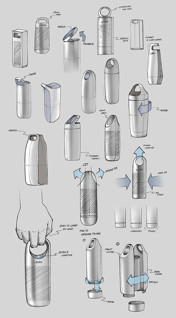 HOLE by Kim Seungwoo ____________________________ Portable air purifier