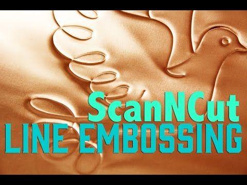 Balzer Designs: ScanNCut Techniques: Line Embossing & Region Embossing