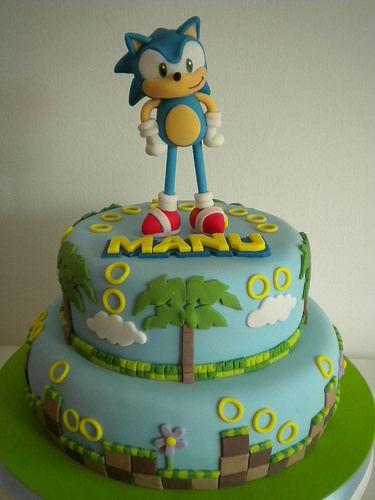 Torta Sonic | Pastelera Bakery Shop | Flickr