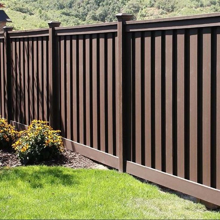 dark grey stained fence Yahoo Search Results Yahoo Image