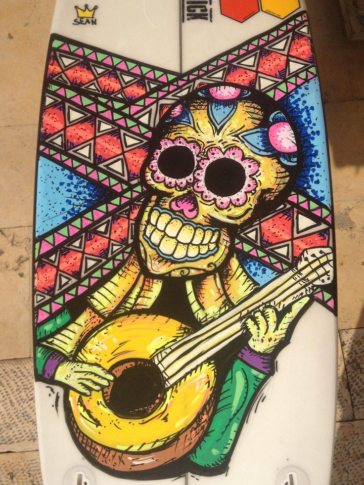 Skelton guitar
