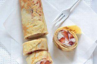 Základní recept na palačinky používáme tento. Množství nám vystačí pro tři na snídani, dáváme si palačinky plněné tvarohem a marmeládou, aby byly sytější.