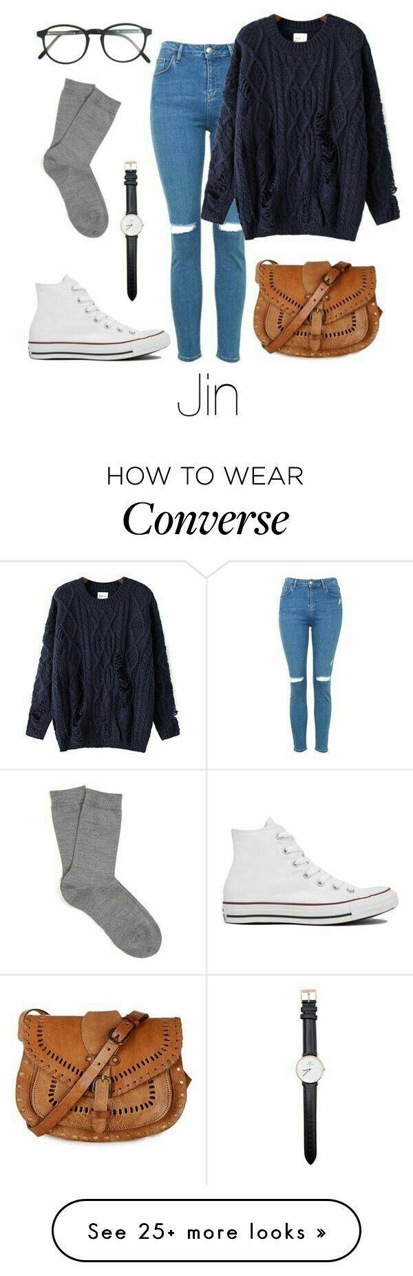 Wie trägt man converse / Jin
