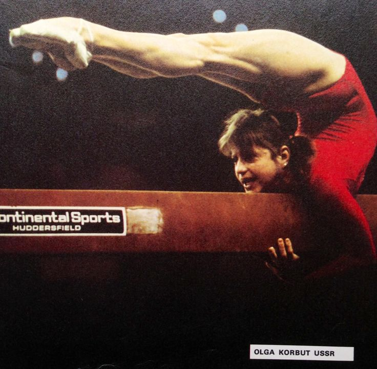 find this pin and more on vintage gymnastics color olga korbut