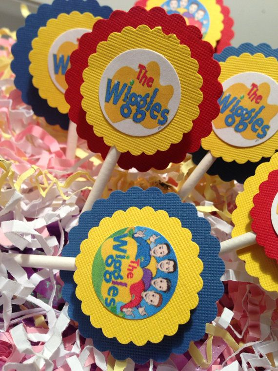 The WIGGLES Cupcake Toppers or CAKE TOPPER by YourPartyStore, $6.75