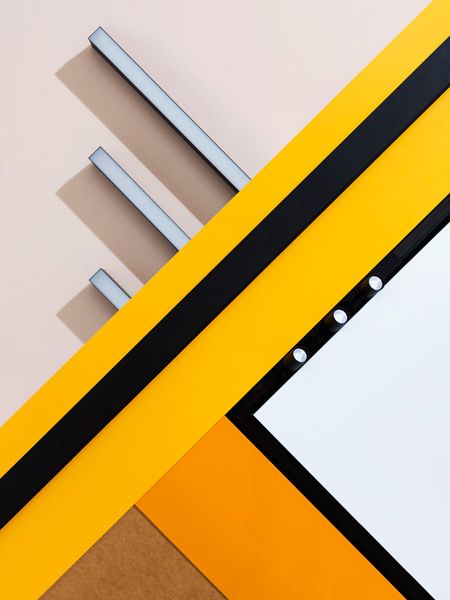 Carl Kleiner's FLOS series - great use of color and shape & references to modern art