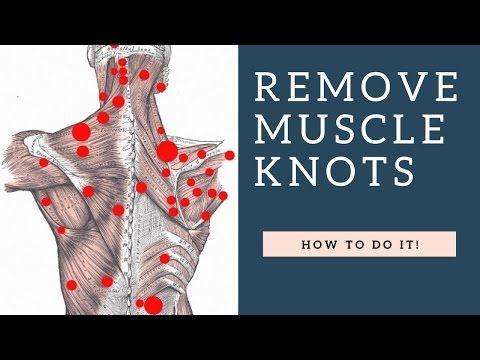 Best Way To Fix Shoulder Knots Myofascial Trigger Points