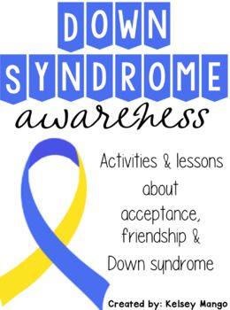 PDF/BOOK TO PRINT DOR Down Syndrome Awareness (World Down Syndrome Day OR DS awareness month of October)