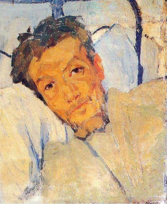 Stratis Doukas Artist: Spyros Papaloukas Completion Date: 1924 Style: Expressionism Genre: portrait
