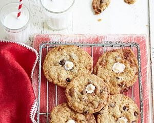 James Martin's crunchy cornflake and marshmallow cookies make a delicious treat with a cup of tea