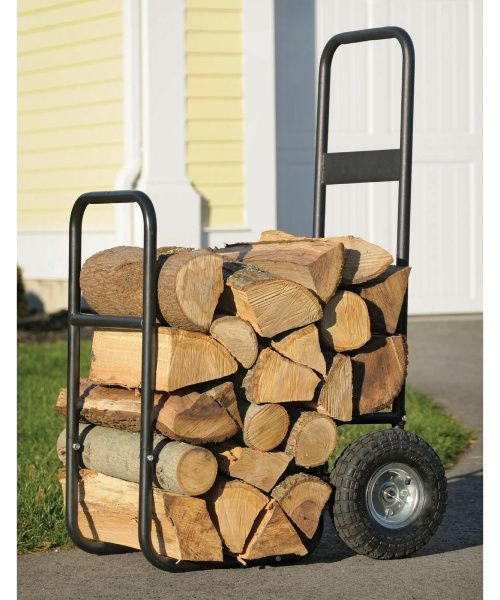 Shelter Logic Firewood Mover with Wheels - Fire Pit Accessories at Hayneedle