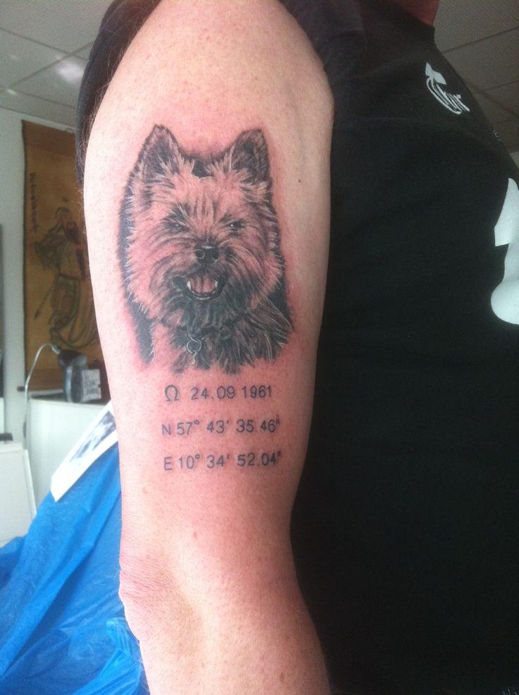 Tattoo Of My Dog By Ronni Froberg Www Hrogfrutattoo Dk
