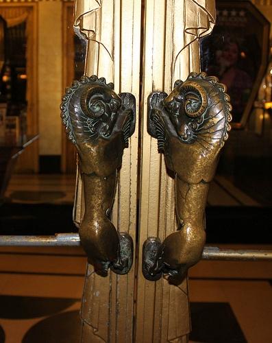Ram Door Handles: The Savoy Theatre