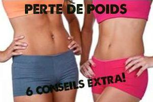 6 conseils extra sur la perte de poids