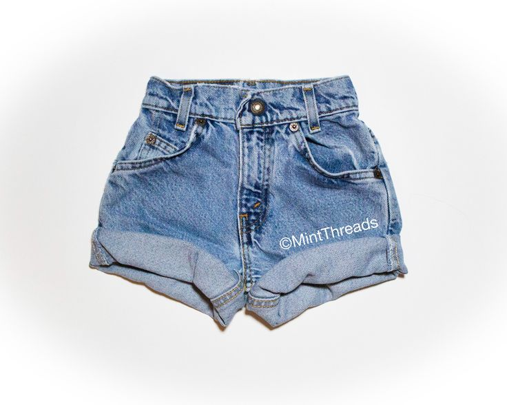 "ALL SIZES Vintage ""HERCULES"" High Waisted LEVI Denim Shorts - Mint Threads"