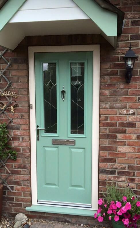 Brighten up your home with our extensive range of colours. This Etna classic in Turquoise Pastel is the perfect example. Find your nearest installer & get a quote now: http://endurancedoors.co.uk/authorised-retailers/