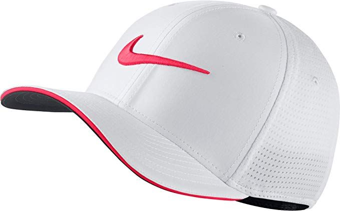 918db4949 Nike Classic 99 Mesh Golf Cap 2017 White/Siren Red/Anthracite Small ...
