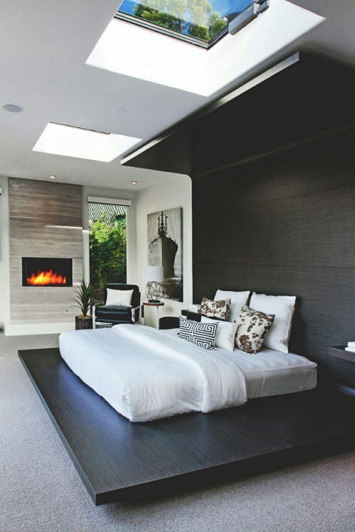 20 Der Schonsten Schlafzimmer Mit Sky Lights Lights Schlafzimmer Schonsten Wohnung Wohn Schlafzimmer Schlafzimmer Design