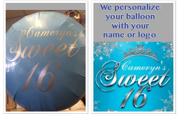 Personalized Balloons, Customize Balloon Delivery