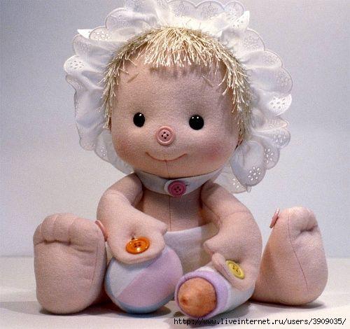 Внимание!!! Начинаем совместный пошив Куклы Кнопки. Обсуждение на LiveInternet - Российский Сервис Онлайн-Дневников