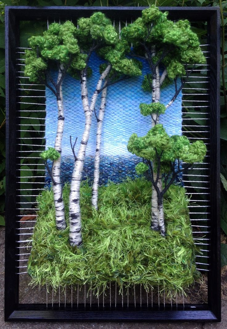 Dimensional Weaving - Martina Celerin 3D fiber art: Weave, weave weave...