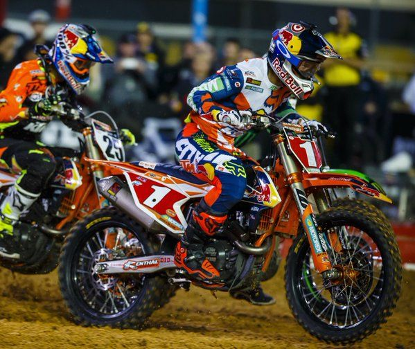 Ryan Dungey-sad to hear about his retirement yesterday. He's at the height of his career, but he's had such an amazing one so I just hope he comes back to help scout and coach the next big rider like he hopes he will as well.