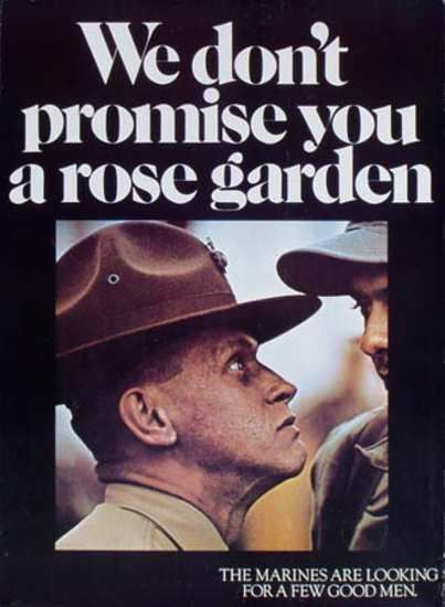 Rose Garden by United States Marine Corps Official Page, via FlickrRose Gardens, Picture-Black Posters, Recruitment Posters, Semper Fi, Semperfi, Marine Corps, United States, States Marines, Marines Corps