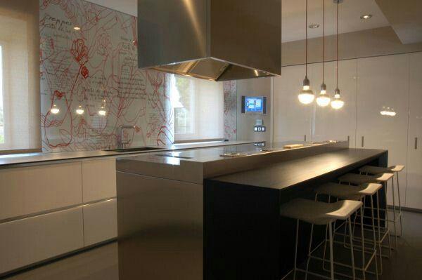 Illuminazione isola cucina