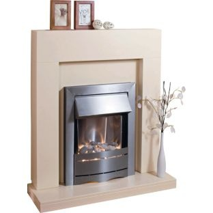 buy adam boston ivory electric fire suite at. Black Bedroom Furniture Sets. Home Design Ideas
