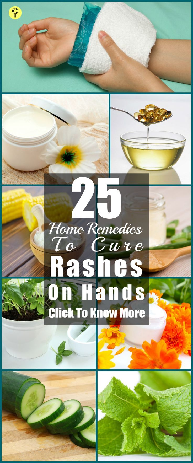 25 Effective Home Remedies To Cure Rashes On Hands