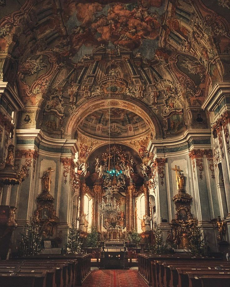 2876 best images about i wish i were here on pinterest for Baroque style church