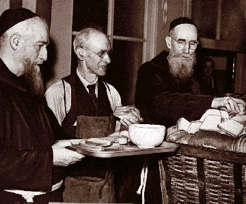 """Father Solanus Casey had come to Detroit to be a Capuchin friar. During his years as a priest he spent time in other states, but he began and ended his career in Detroit. But he left another rich legacy -- a long list of curious """"favors"""" to an equally long list of devoted believers.    The thin, bald ascetic with horn-rimmed spectacles and a flowing gray beard spent 23 years at St. Bonaventure Monastery in Detroit. He was a man of rare holiness. A mystic."""