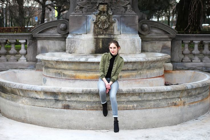 How I go for a military look #ootd #women #fashion #military #look #blogger