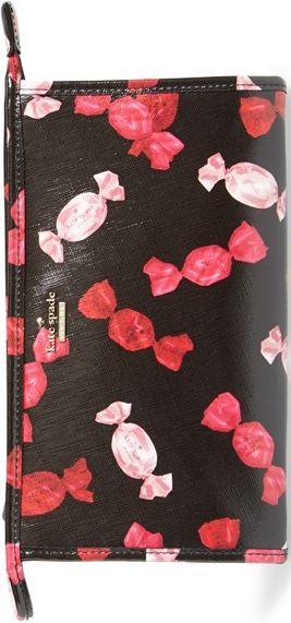 •Website: http://www.cuteandstylishbags.com/portfolio/kate-spade-new-york-black-multi-sinclair-drive-iris-cosmetics-case/ •Item: Kate Spade New York Black Multi 'Sinclair Drive Iris' Cosmetics Case