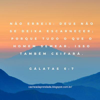 GALATAS 6:7