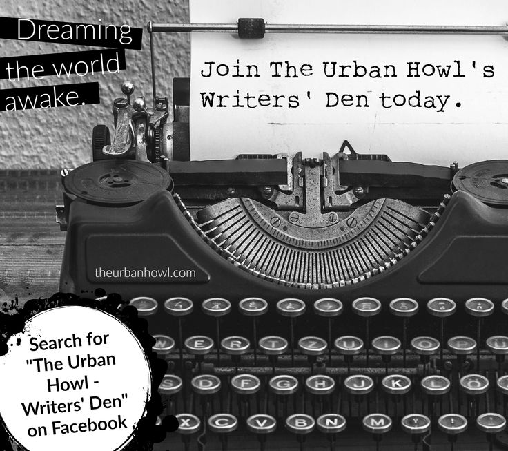 Join our super casual and supportive FREE writer's forum here: on.fb.me/1R78HVs #TheUrbanHowl