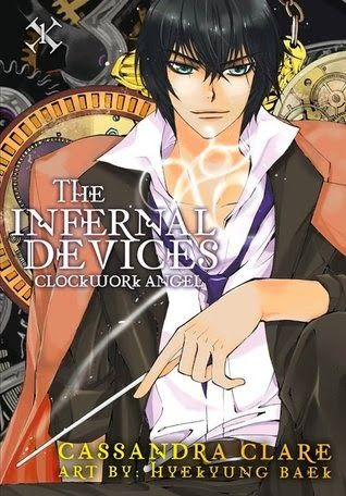 Libros entre mundos: Fotoreseña: Ángel Mecánico (The Infernal Devices Manga #1)