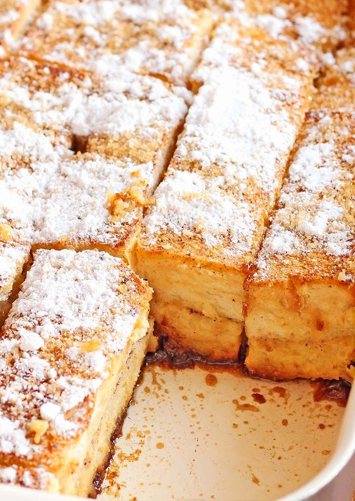 Easy Overnight French Toast Bake from Cakescottage is a featured recipe at Weekend Potluck at The Country Cook. This is my kind of breakfast!