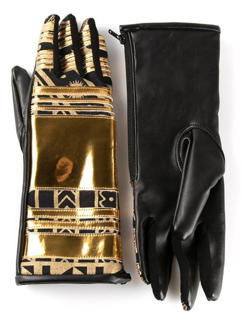 KTZ metallic gloves £193.20