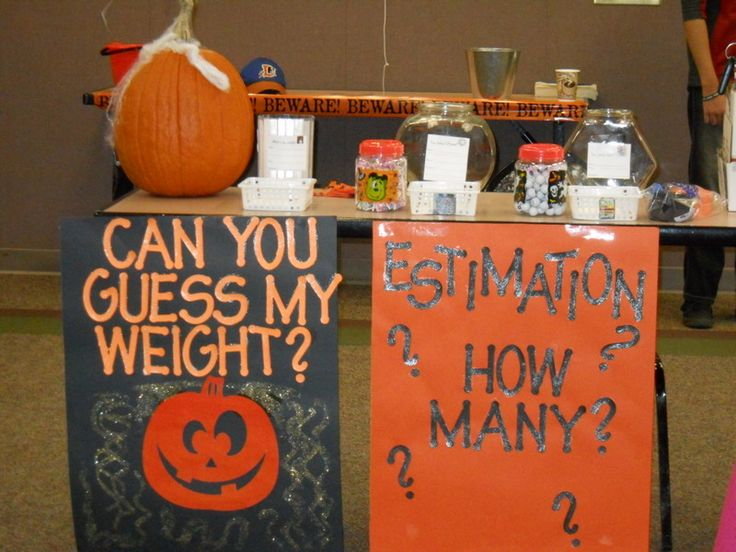 halloween library carnival estimation game display could do as guessing game and award the prize monday at school ms - Halloween Outside Games