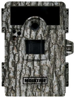 Moultrie M-990i 10MP No Glow Infrared Mini Game Camera by Moultrie. $182.10. 10.0 megapixel No Glow infrared game camera. Barometric pressure, moon phase, temperature, time, date and camera ID. High Definition video (720p), records video with sound. Illumi-Night sensor. Up to 70-ft night range. From the Manufacturer                This infrared game camera delivers big pictures, has a quick response time and is an easy way to bring trail activity to life. The M-990i delivers c...