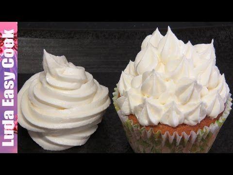 Простой МАСЛЯНЫЙ КРЕМ базовый рецепт - Perfect Buttercream Frosting - YouTube