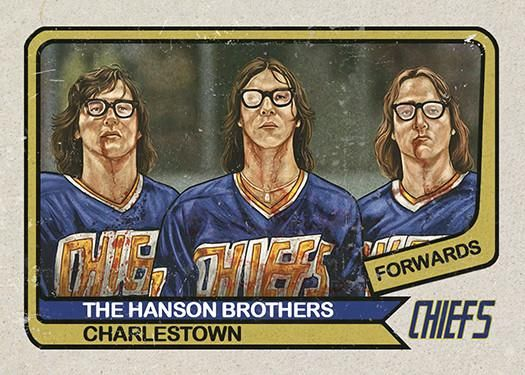 """Cuyler Smith """"74 - The Hanson Brothers"""" Framed"""