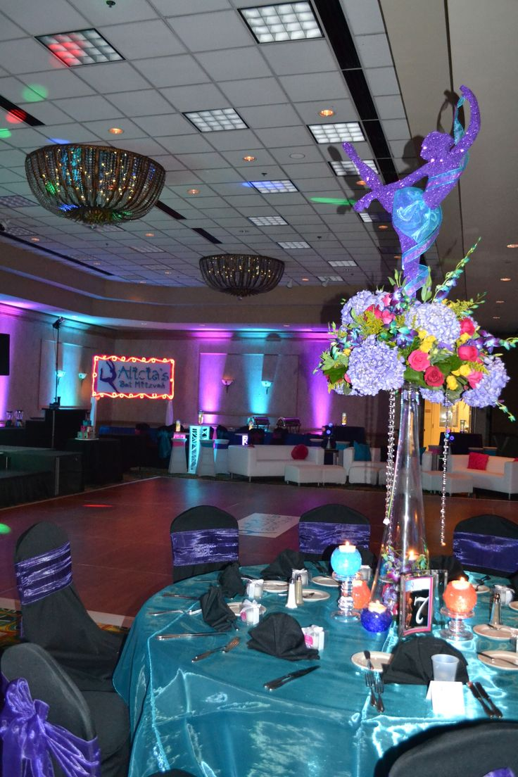 Tags bar and bat mitzvah event decor themes venues - Dance Themed Bat Mitzvah Event Decor Party Perfect Boca Raton Fl 1 561