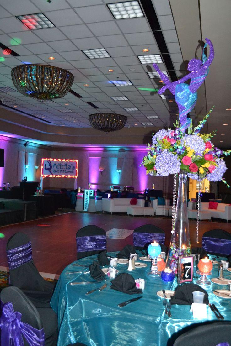 Tags bar and bat mitzvah event decor themes venues - Dance Themed Bat Mitzvah Event Decor Party Perfect Boca Raton Fl 1 561