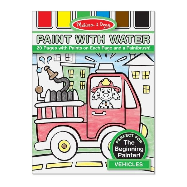Paint with Water - Vehicles - Dragonello #Dragonello